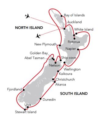 Circumnavigation of NZ