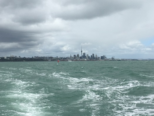 Leaving Auckland