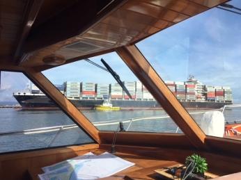Ship leaving TGA