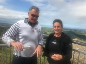 B and J at Te Mata Peak