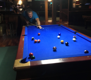 December Onboard Resolution III - Stu's pool table movers