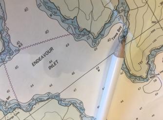 Burt's charts - Endevour Inlet