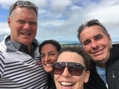 Crew Selfie at Te Mata Peak