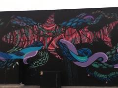 Mural in Napier