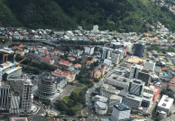 Wellington City from chopper