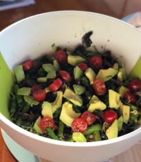Avocado, Asparagus and Tomato Salad