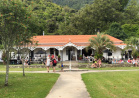 Bar from the garden at Furneaux