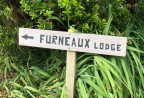 Furneaux Lodge Sign
