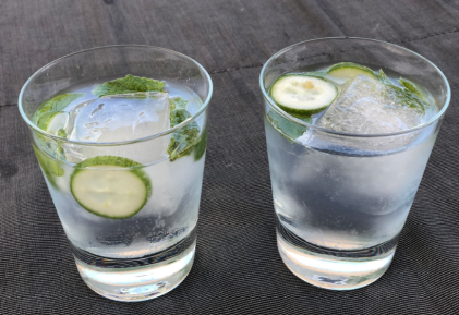 G&T w Mint and Cucumber