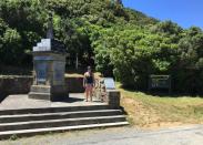 Jodi at Monument