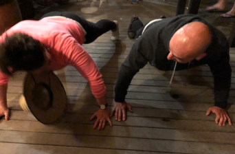 Push up competition
