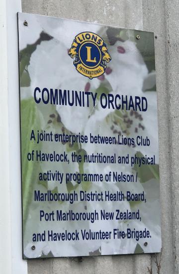 29 Community Orchard