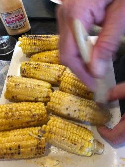 Corn with Peri Peri Mayo