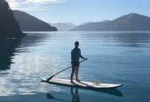 Jodi Paddle Boarding