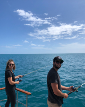 Sam and Katie Fishing