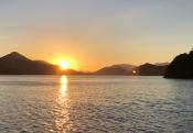 Sunset at Take-in Bay 1