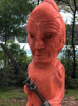 005 Maori Carving