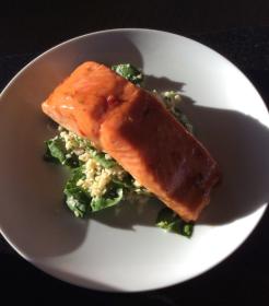 008 Salmon Dinner