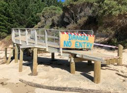 016 Awaroa Ramp Closed