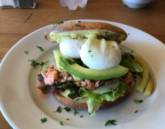 029 Smoked Salmon Bagel