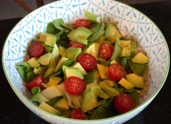 065 Salad for dinner